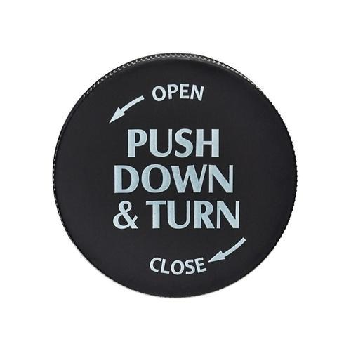 Push down&Turn