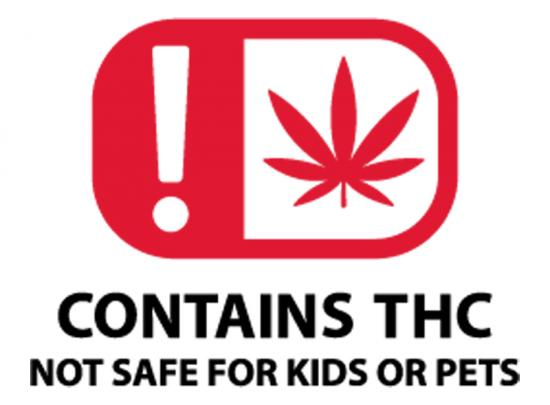 Oklahoma Cannabis Warning Labels