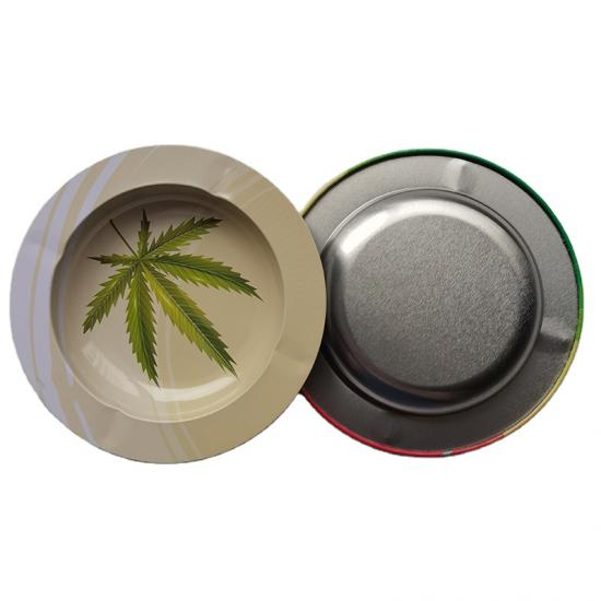 Customize Round Cigar Ashtray